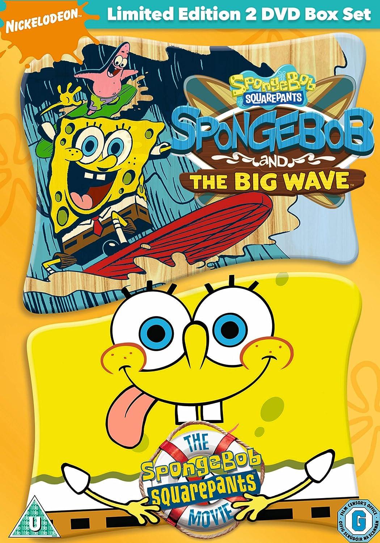 spongebob squarepants the movie spongebob and the big wave dvd