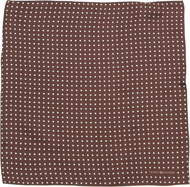 Tommy Hilfiger Mens Color Dot Pocket Square