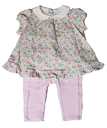 666d021df7 Image Unavailable. Image not available for. Color: Ralph Lauren Girls 2  Piece Floral ...