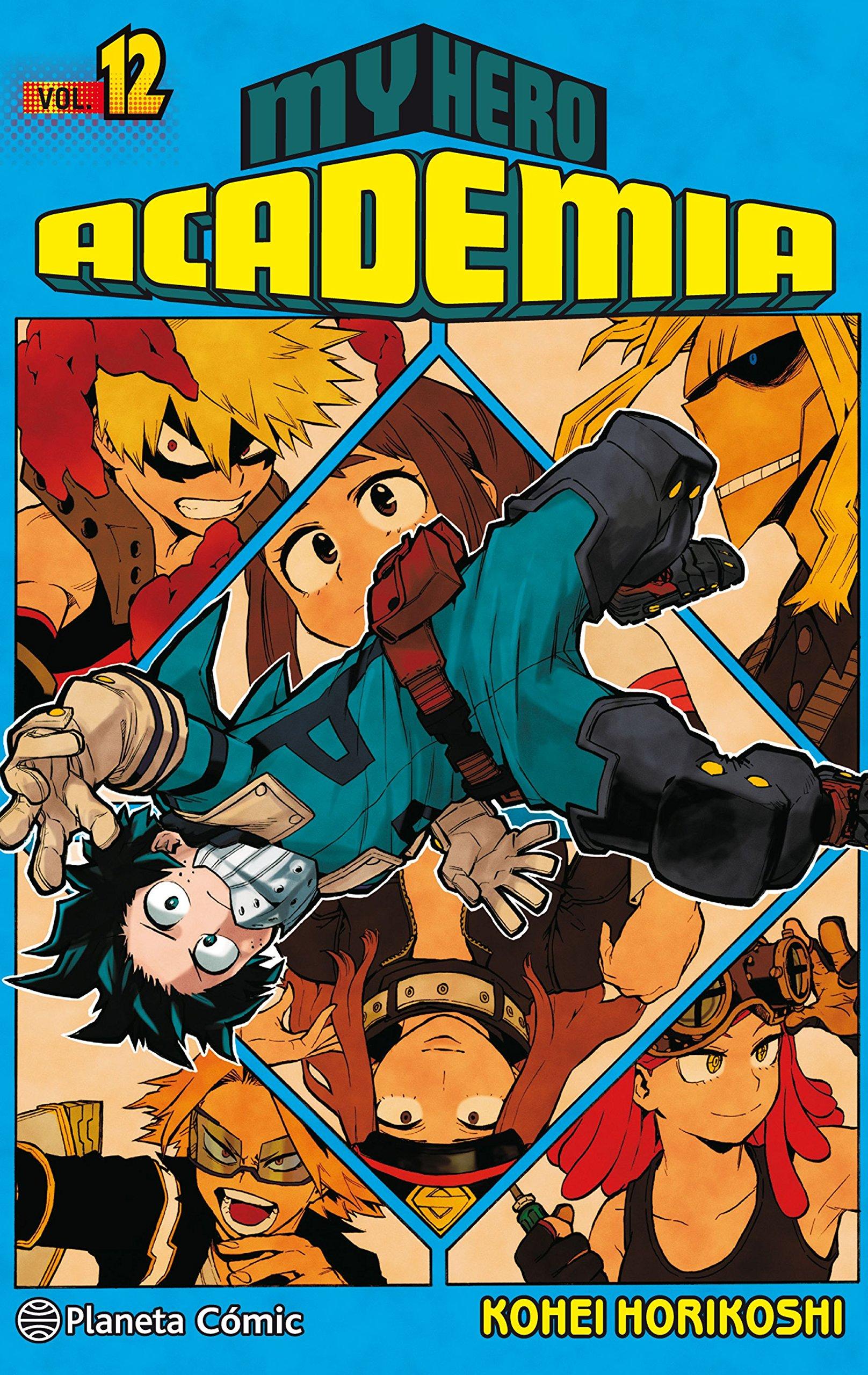 My Hero Academia nº 12 (Manga Shonen) Tapa blanda – 18 sep 2018 Kohei Horikoshi Daruma Planeta DeAgostini Cómics 8491468544