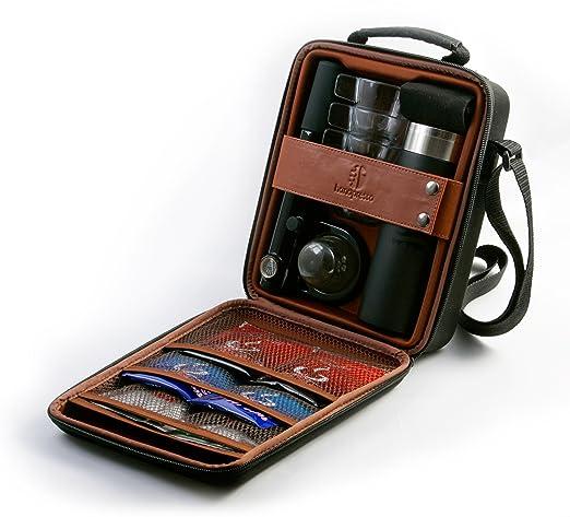 3 opinioni per Handpresso 48206 Set per esterni con pressa manuale, caraffa termica e set 4