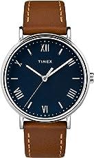 Reloj Timex Southview de 41mm para hombres, correa de cuero