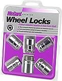 "McGard 24538 Chrome Cone Seat Wheel Locks (1/2"" - 20 Thread Size) - Set of 5"