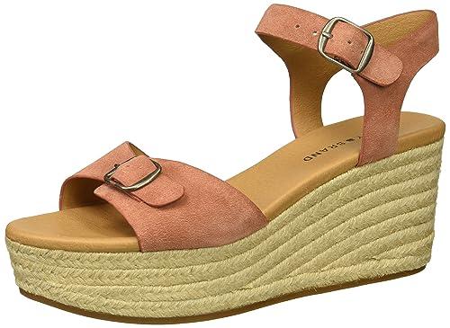 61b66333b488 Lucky Brand Women s Naveah Espadrille Wedge Sandal  Buy Online at ...