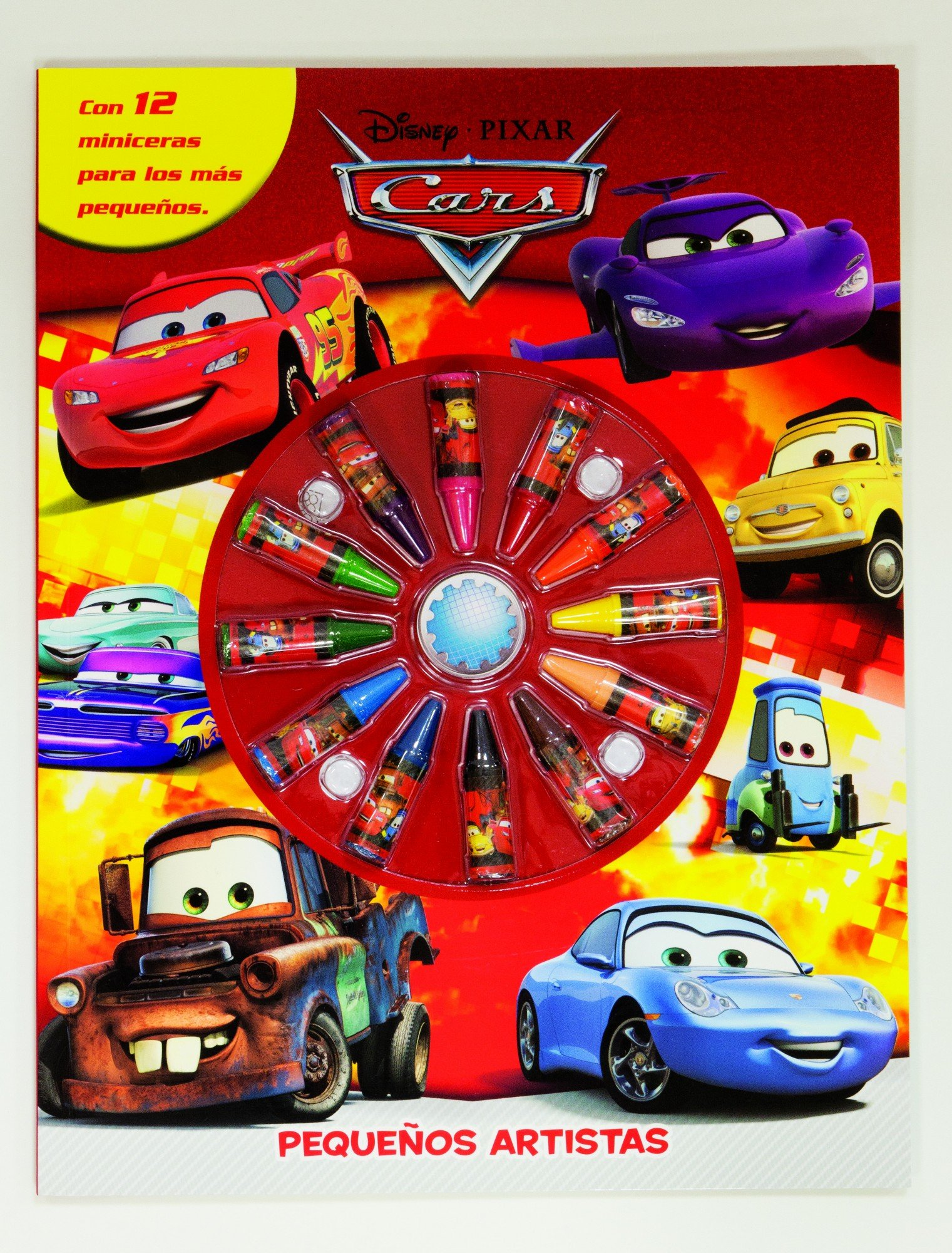 Download Cars. Pequeños artistas pdf