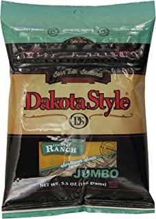 product image for Dakota Style Jumbo In-Shell Sunflower Seeds, Country Ranch, 5.5 Ounce (Pack of 12)
