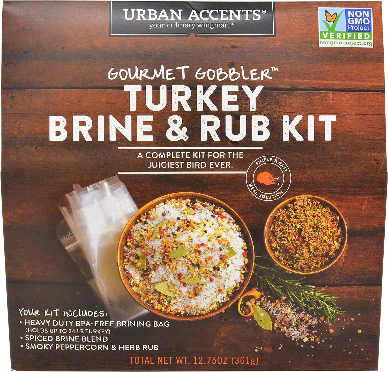 Gourmet Gobbler - Kit para asar y rostizar pavo 13.25 onzas ...