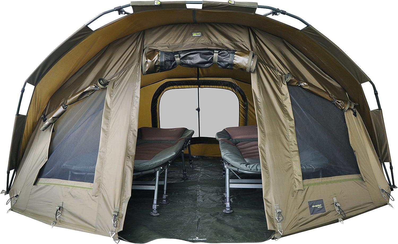 Sport Fort Knox Karpfenzelt 3,5 Mann 2 Karpfenliegen X Pro