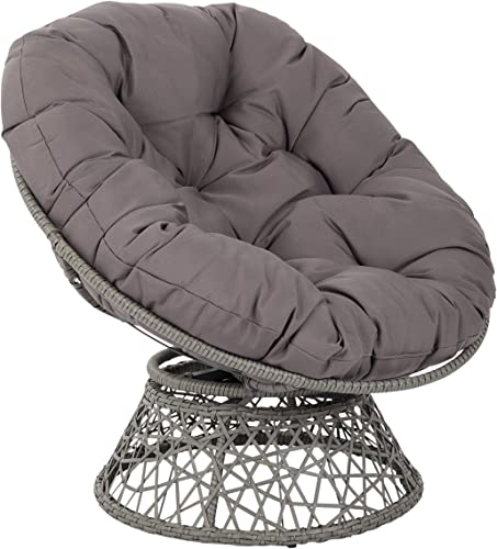 OSP Designs BF25292-GRY Papasan Chair
