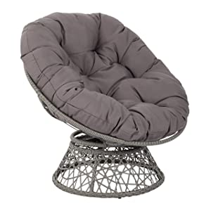 OSP DesignsPapasan Chair, Grey
