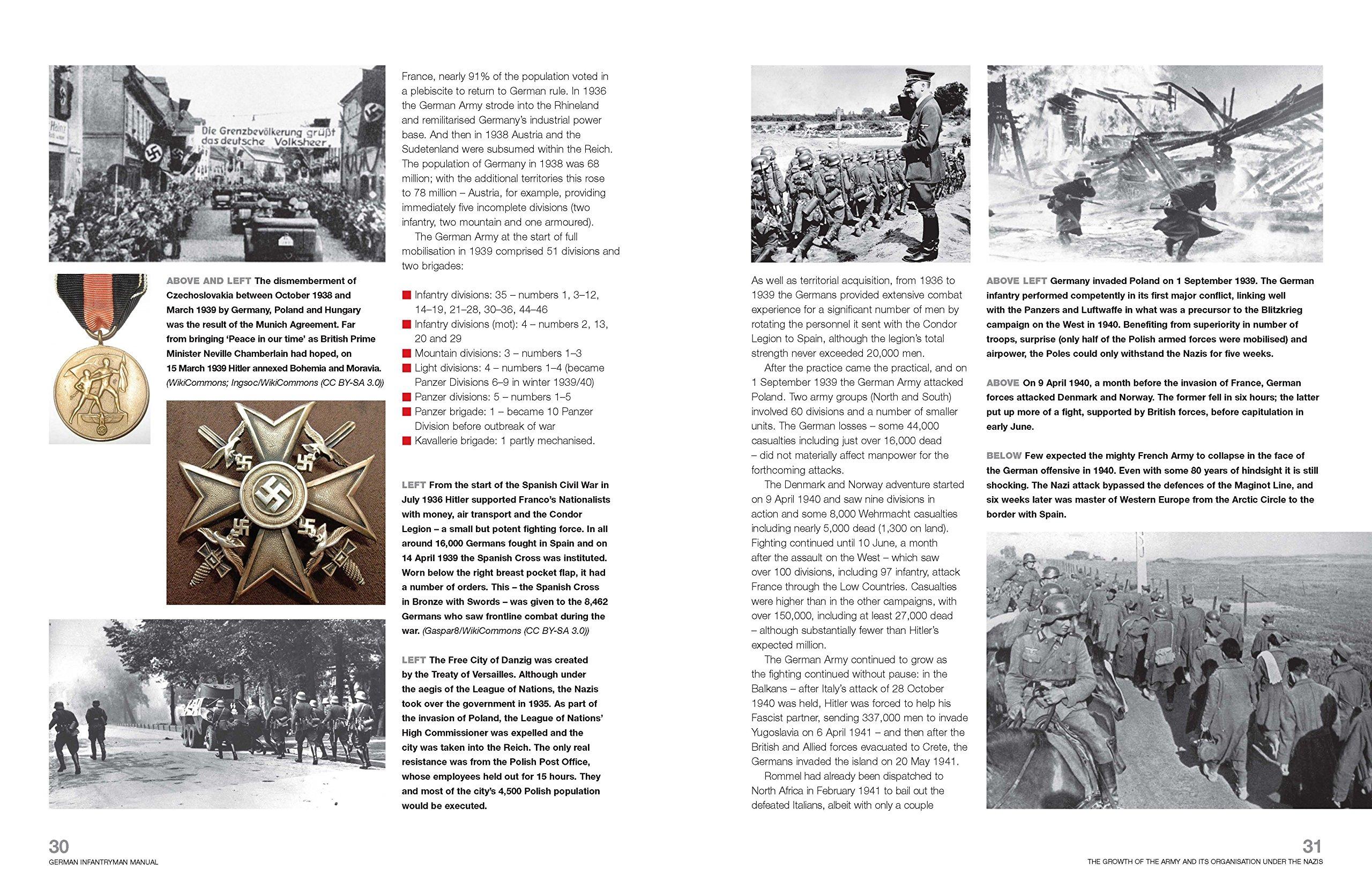 German Infantryman Operations Manual The German Soldier 1939 45