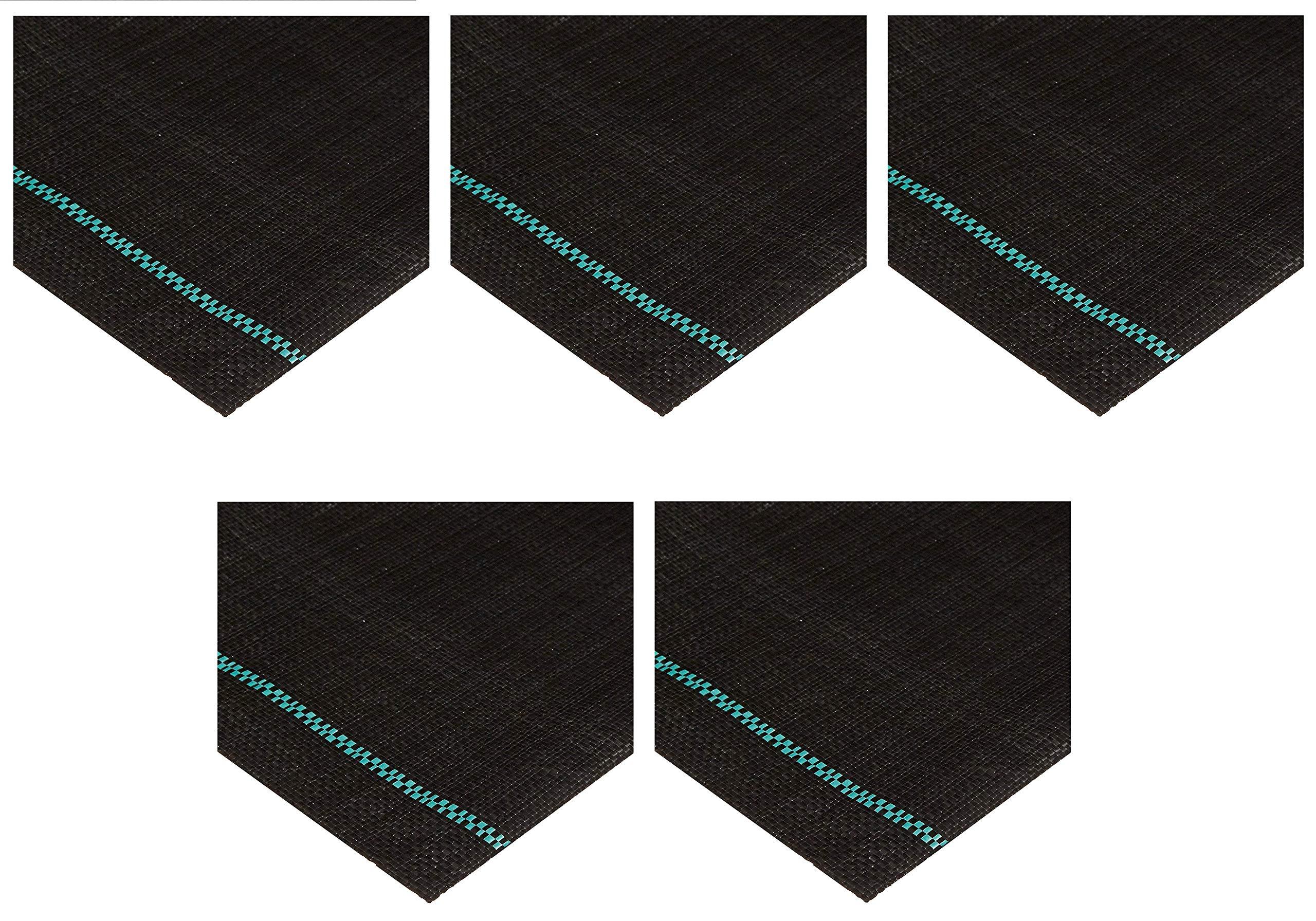 Mutual WF200 Tire Scrub Fabric Driveway Kit, 54' Length x 12-1/2' Width (Вundlе оf Fіvе)