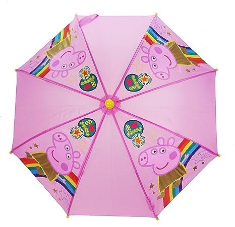 Peppa Pig Paragua clásico, rosa (Rosa) - PEPPA005103