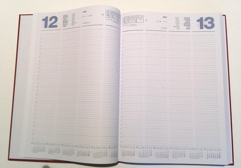 Agenda 2018 diaria F. to A4 21 x 29,7 cm x restaurantes ...
