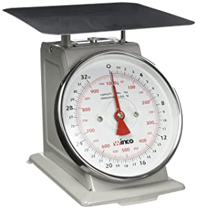 Winco SCAL-62 2-Pound/1kg Scale with 6.5-Inch Dial