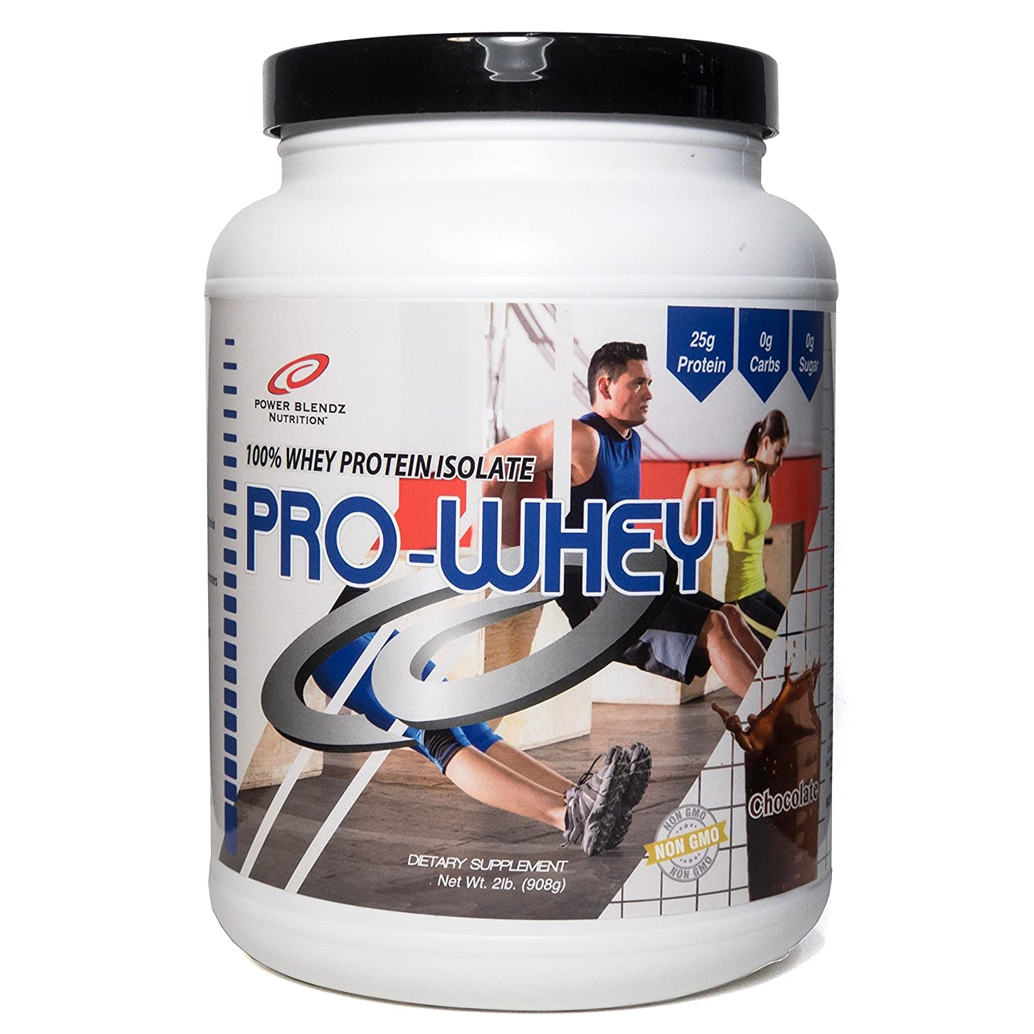 Pro Whey 100% Whey Isolate- All Natural (Chocolate)