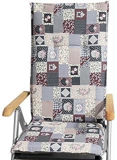 greemotion Almería Cojines para sillas, Gris: Amazon.es: Jardín