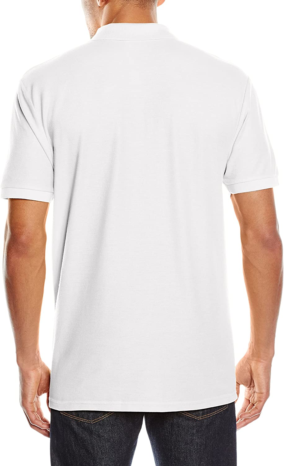 Fruit of the Loom Raglan Sleeve, Polo Para Hombre, blanco, Small ...