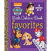 Paw Patrol Little Golden Book Favorites: 3 Books in 1! Itty Bitty Kitty Rescue & Puppy Birthday to You! & Pirate Pups!