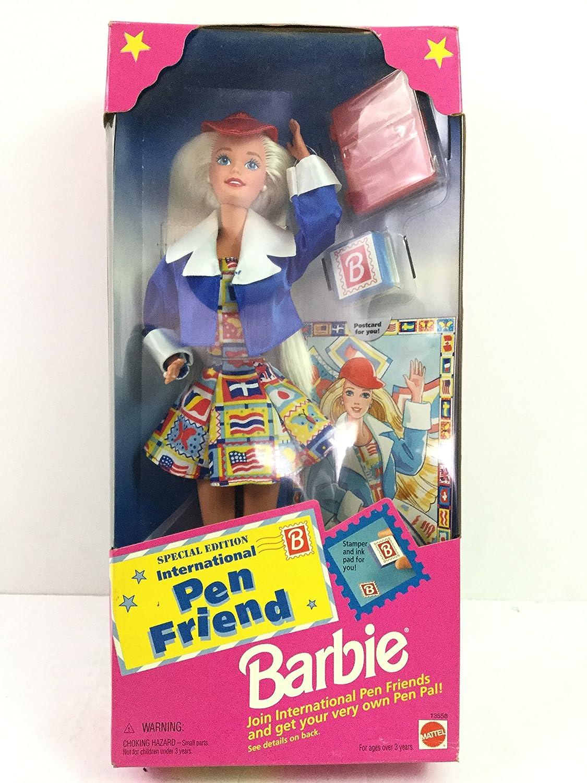 Barbie International Pen Friend