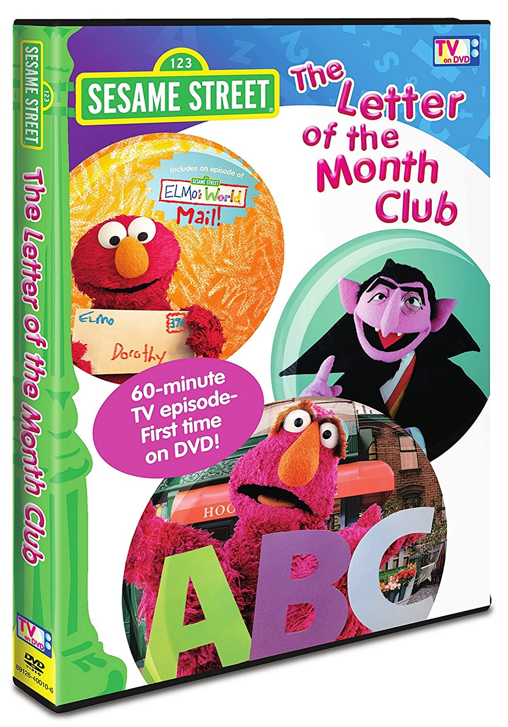 Sesame Street The Letter Of The Month Club.Amazon Com Sesame Street The Letter Of The Month Club