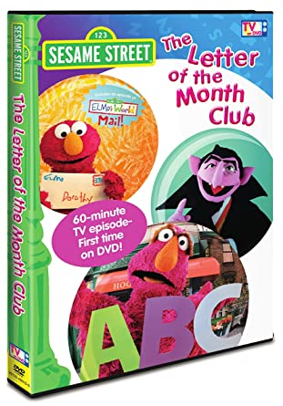 Amazon.com: Sesame Street: The Letter of the Month Club: Sonia