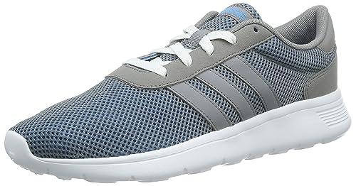 adidas lite racer f99415 colore grigio blu dimensione: