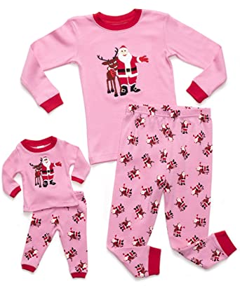 Amazon.com: Leveret Girl Santa Matching Doll & Kid Christmas 2 ...