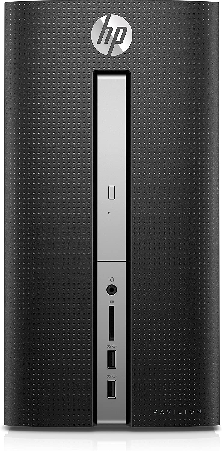 HP - Pavilion Desktop - AMD A12-Series - 8GB Memory - 1TB Hard Drive - HP finish in twinkle black