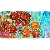 "Toland Home Garden Fabulous Flowers Anti-Fatigue Comfort Mat, Multicolor, 20"" x 38"""
