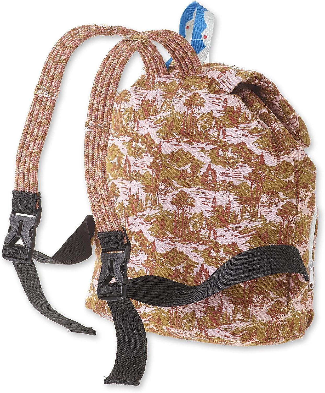 Black KAVU Ridgeview Rucksack Semi Padded Rope Backpack
