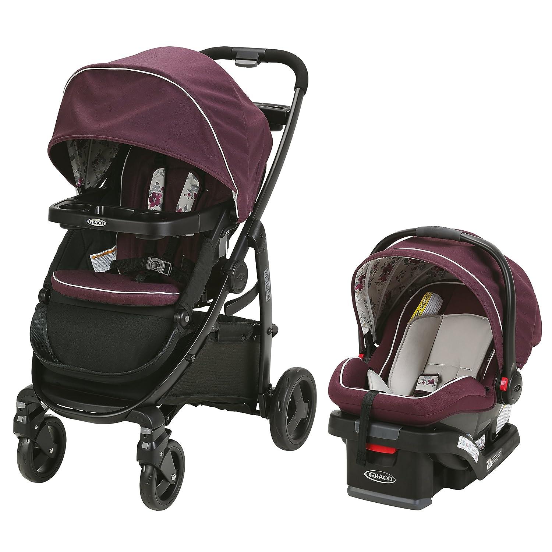 Graco Modes Travel System   Includes Modes Stroller and SnugRide SnugLock 35 Infant Car Seat, Nanette