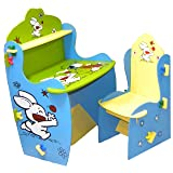 Wood-O-Plast Knock Down Kids Study Table Chair Set