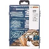 Kit de Fixação Bosch brocas, pontas e parafusos com 173 peças