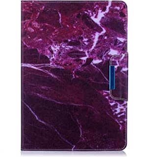 Herberts Cover Compatibile con Samsung Galaxy Tab 4 10.1 (T530/T535) Pelle Custodia per Tablet Colore Dipinto Smart Slim Case Magnetico Flip Stand Portafoglio Leggero Leather Cover, Fenicotteri