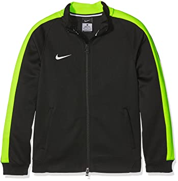 84a0fcb8311f Nike Herren Bekleidung YTH Team Auth N98 Track Jacket Trainingsjacke,  Black Volt Football