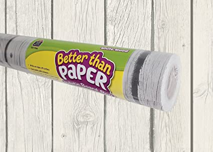 White Wood Better Than Paper Bulletin Board Roll by Teacher Created Resources