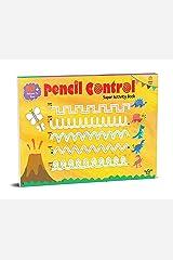 Pencil Control Super Activity Book: Activity Book for Children Paperback