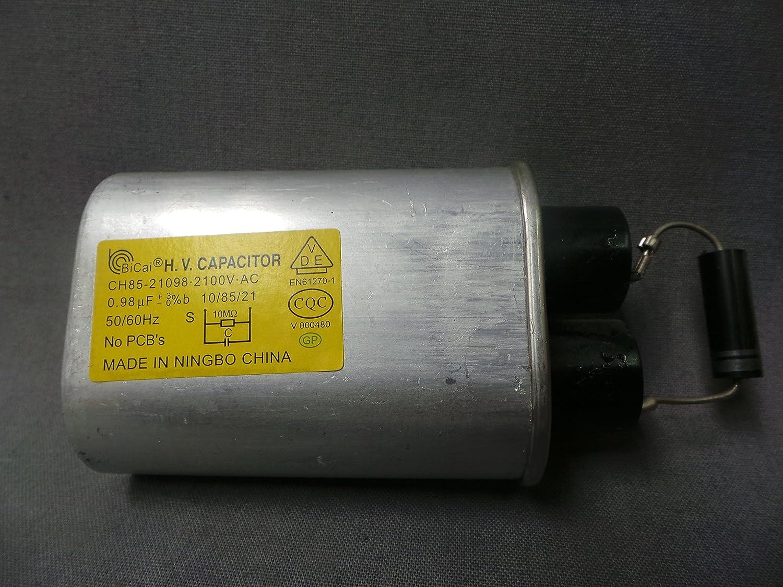 Magic Chef CH85 - 21098 - 2100 V-AC microondas de alta tensión ...