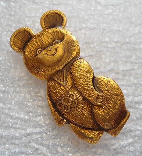 Rare Vintage Olympic Games Misha 20 Plush Bear Moscow Russia 1979 1980 Dakin