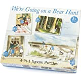 Paul Lamond 4-in-1 We're Going on a Bear Hunt Puzzle