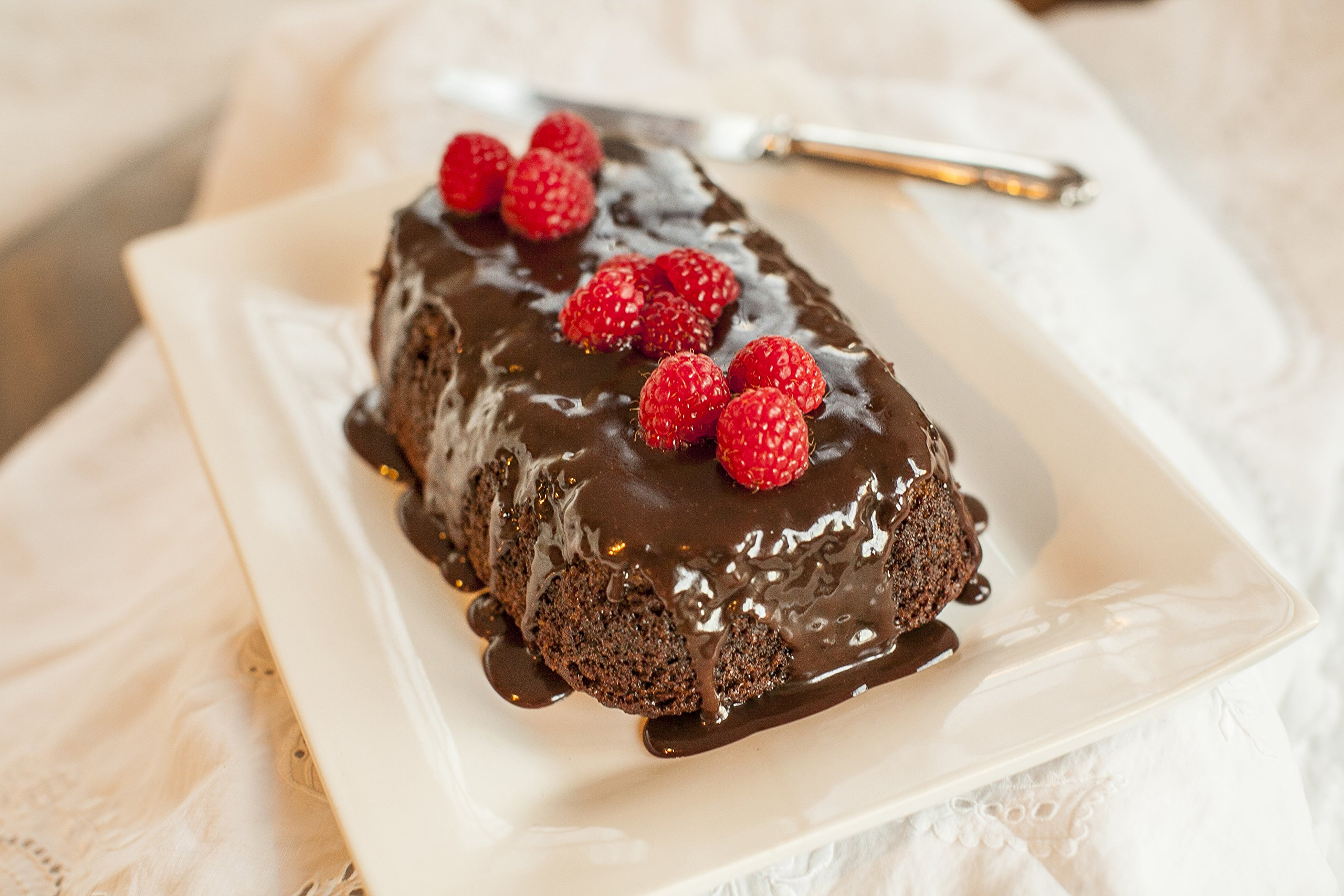 Family Size Molten Chocolate Fudge Cake