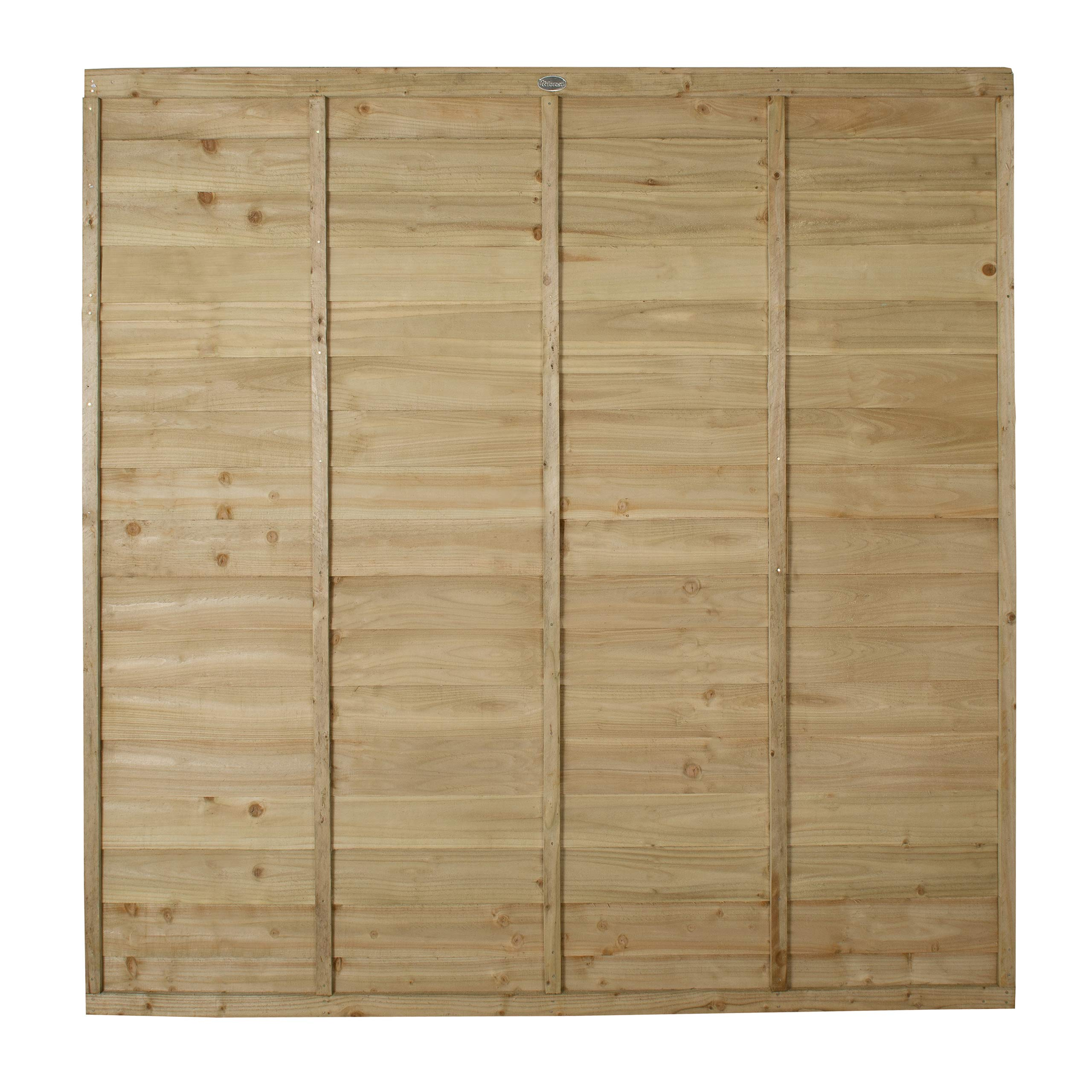 Pressure Treated Forest Garden Forest Fence Panel