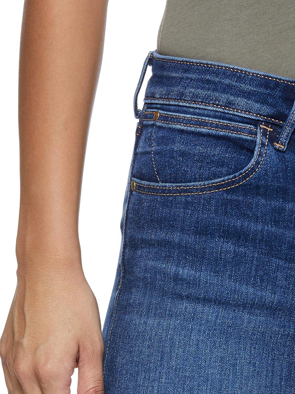 Wrangler Damen Skinny Authentic Blue Jeans