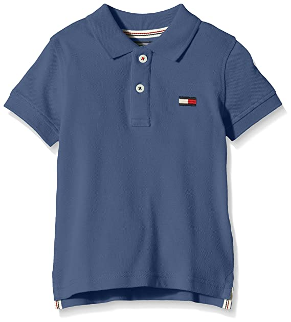 Tommy Hilfiger Big Flag Polo S/S, Blau (True Navy 434), 10 años ...