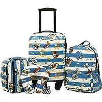 Deals on Travelers Club Boys 5 Piece Kids Luggage Travel Set