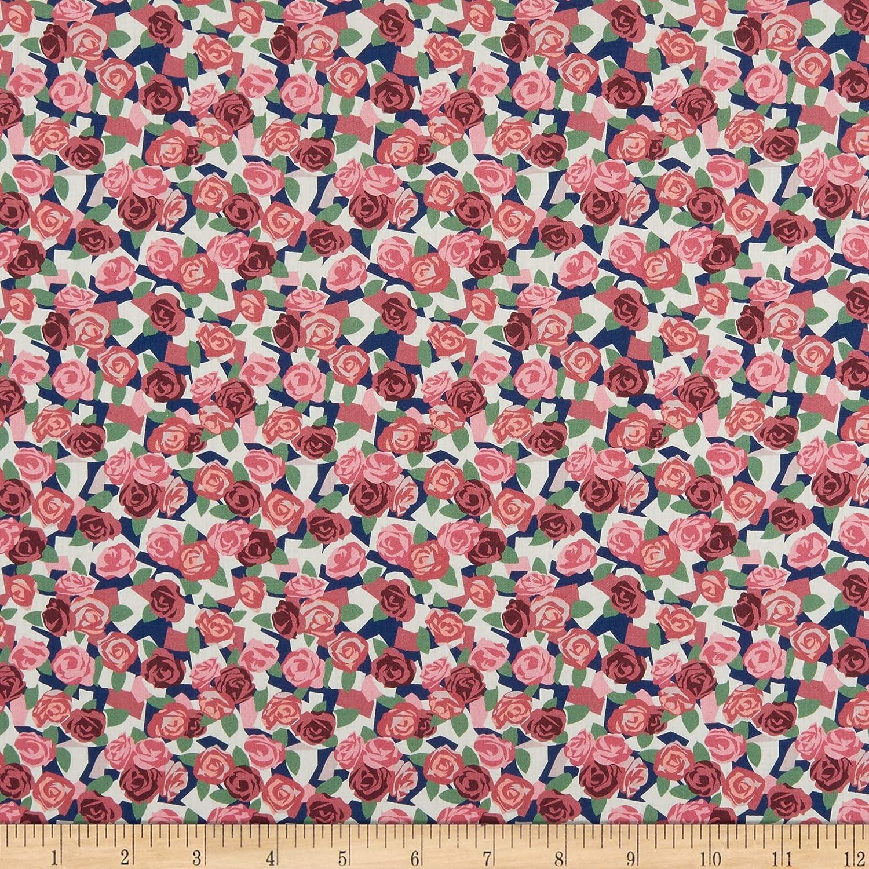 Liberty fabric Wiltshire green Liberty print Liberty Liberty pink Liberty WILTSHIRE pink green flower Liberty Wiltshire fabric