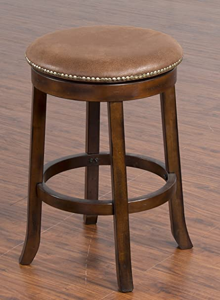 Amazoncom Sunny Design 1782dc Santa Fe Swivel Barstool With