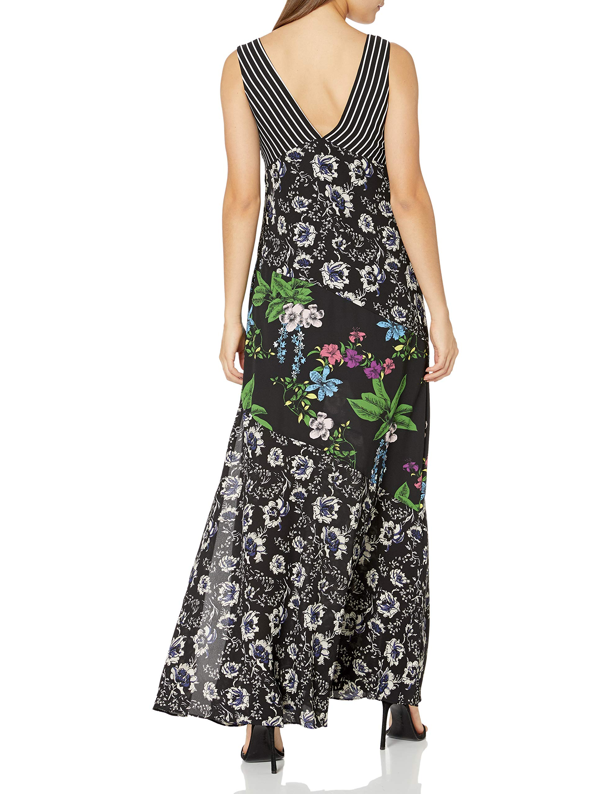 Sam Edelman Womens Mixed Media Maxi Dress