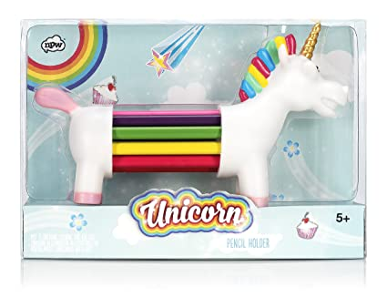 NPW USA NP25170 Unicorn Shaped Color Pencil Set 10 Count
